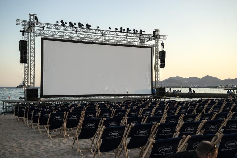 Cinéma de la Plage, Cannes, France |© HUANG Zheng / Shutterstock