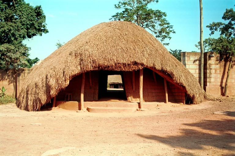Buganda Royal tombs at Kampala, Uganda