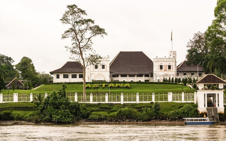 The Astana, or Governor's Palace, Kuching, Malaysia