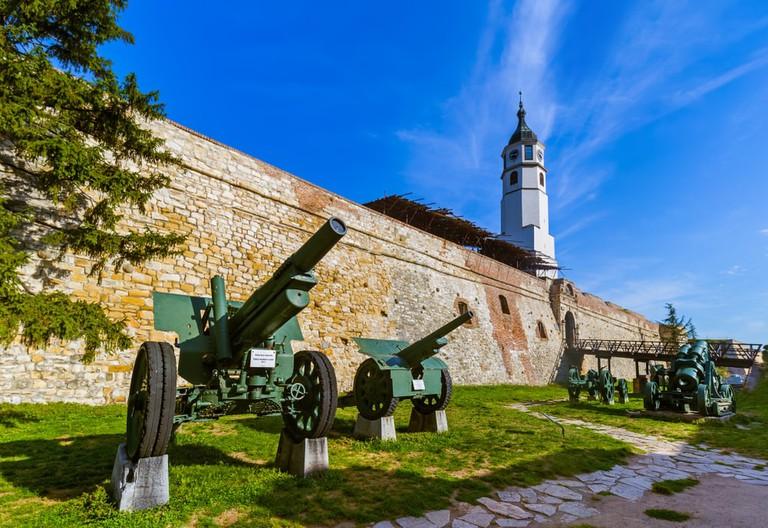 Military Museum in Kalemegdan Belgrade, Serbia