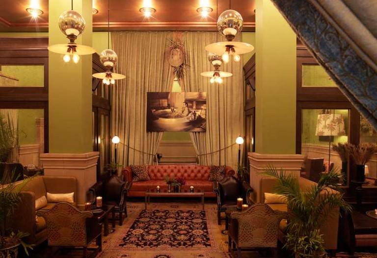 The Salon at the Soho Grand, New York.