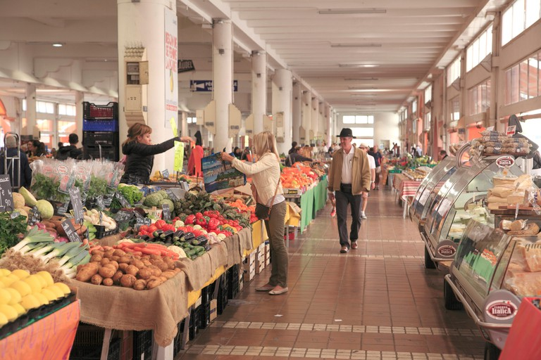 Marche Forville, Forville Market, Cannes, Alpes Maritimes, Cote d'Azur, French Riviera, Provence, France, Europe
