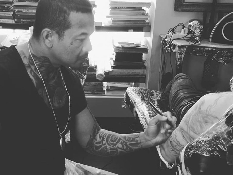 Tattoo artist Noi Siamese, Courtesy of 1969 Tattoo