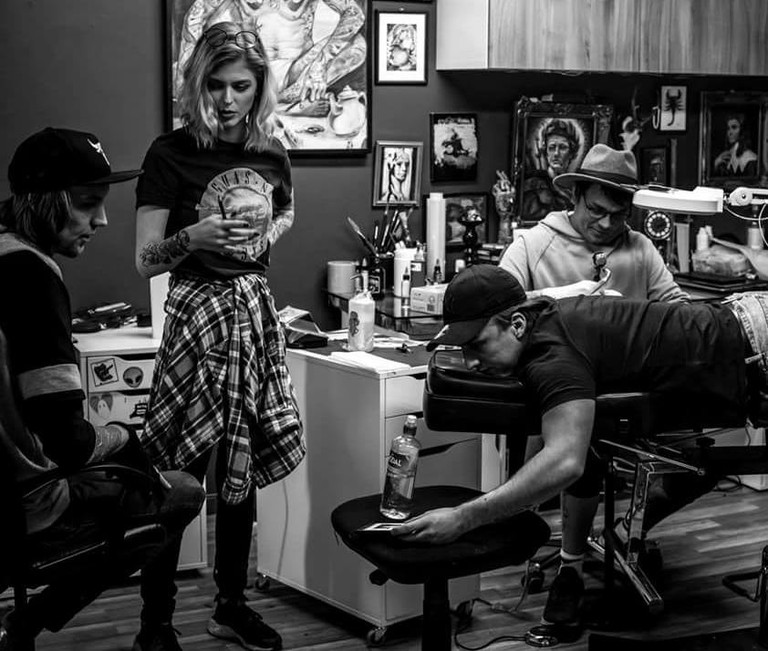 The team at Timeless Tattoo, Courtesy of Timeless Tattoo Oslo