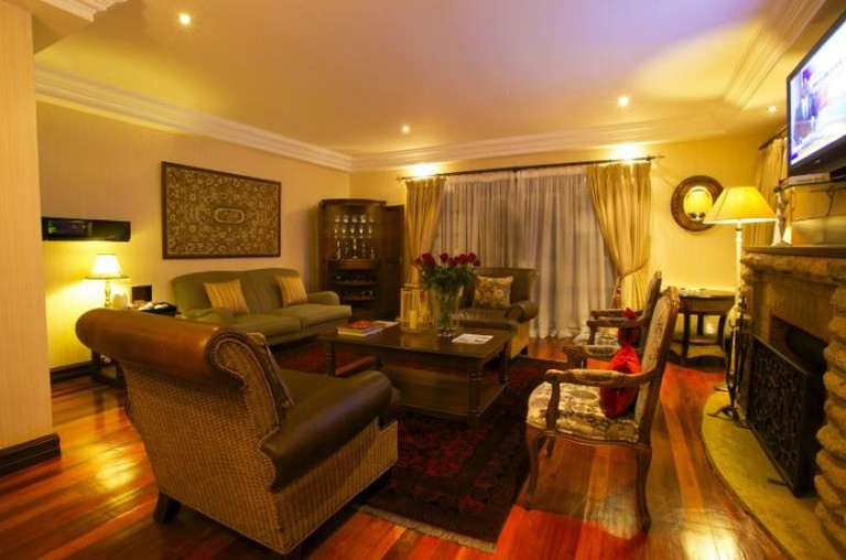 This cozy set up at the Bedelle give the hotel the ultimate romantic atmosphere