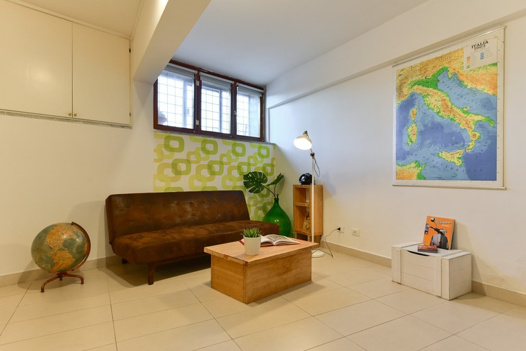 The living space has been designed with an expert eye