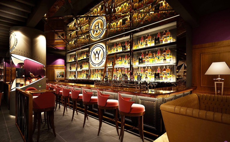 Interior of Whisky House