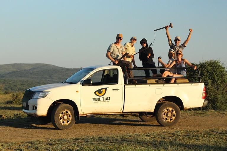 Wildlife ACT volunteers