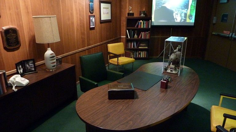 Replica of Vince Lombardi's Office | © JL1Row/WikiCommons