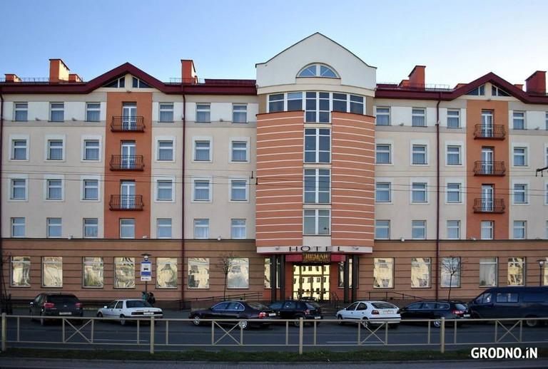 The front of the Hotel Neman | © Hotel Neman