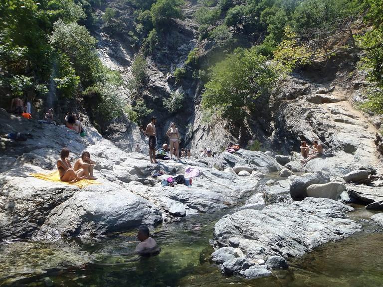 Hot springs of Samothraki
