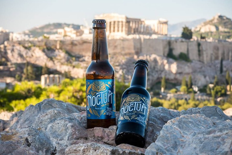 Noctua, the only microbrewery in Athens