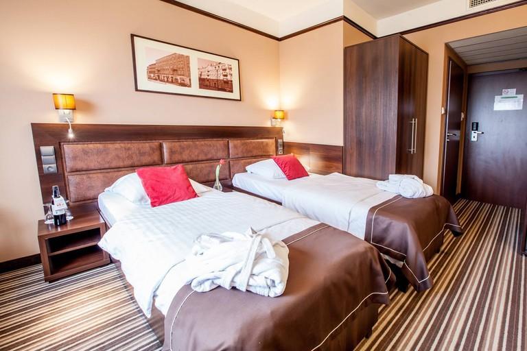 A luxury room at the Hotel Diament Plaza   © Hotel Diament Plaza