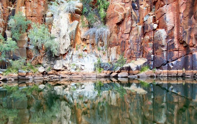 The national park's Python Pool