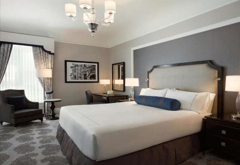 Fairmont Hotel, San Francisco, CA, USA.