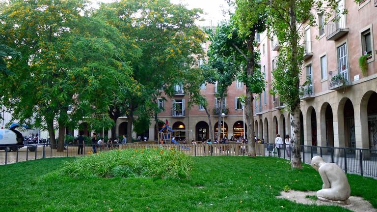 The Plaça de Vicenç Martorell © JEAN ROBERT THIBAULT