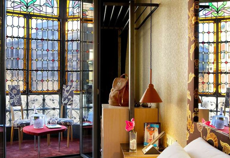 Axel Hotel is situated in Barcelona's gay quarter, Eixample