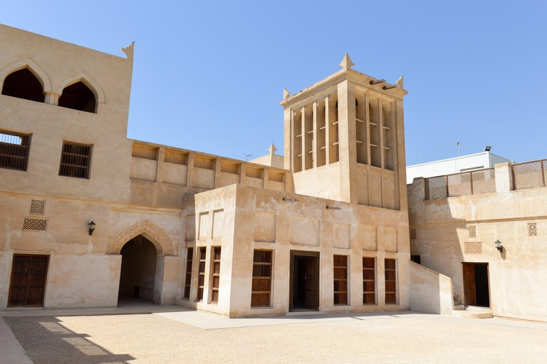 A traditional house, part of the pearling trail in Muharraq