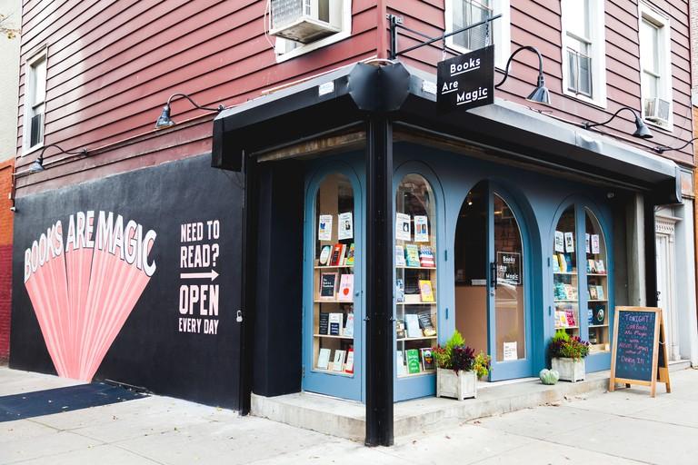 Books Are Magic, New York, USA.