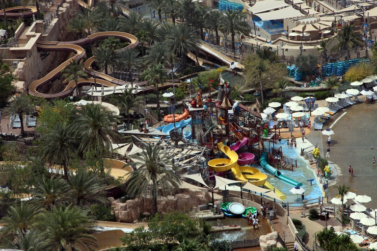 Wild Wadi water amusement park Dubai