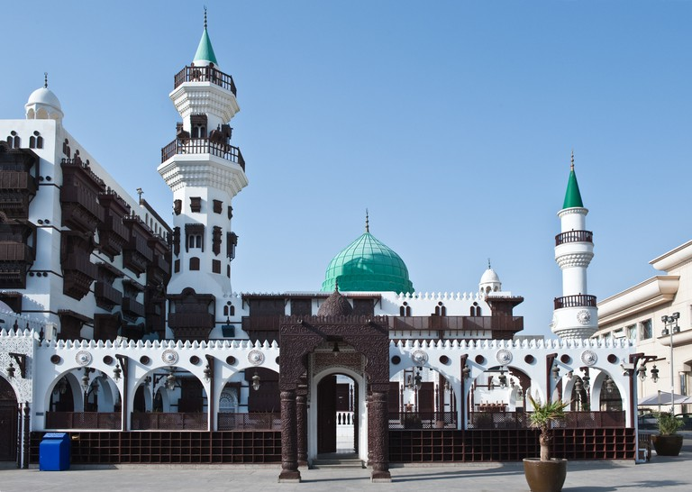 Jeddah the Abdul Raouf Khalil museum and mosque.