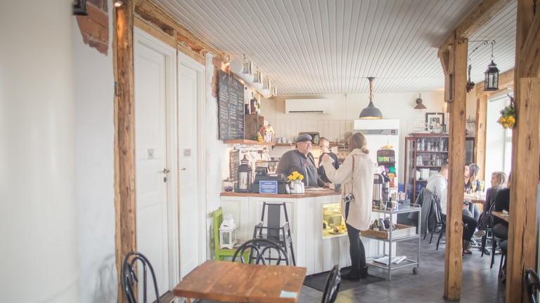 Café Pispala in Tampere, Finland.