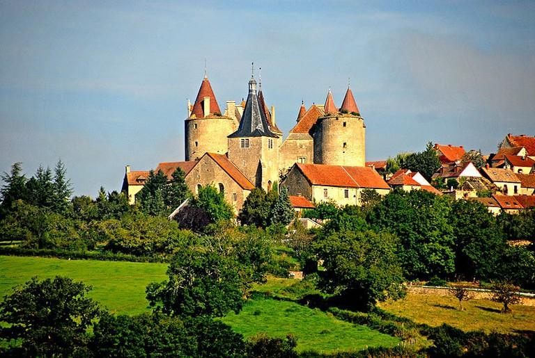 Châteauneuf burgundy