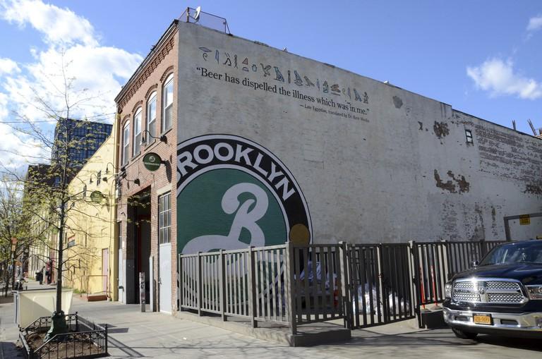 Brooklyn Brewery in Williamsburg, New York.