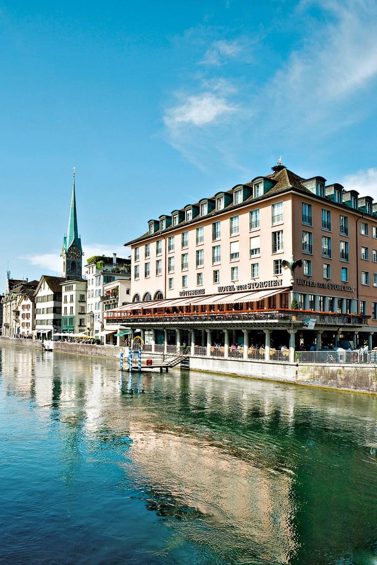 Zuerich, Hotel Storchen