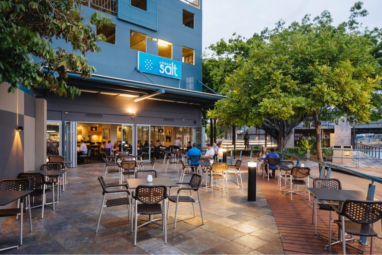 Riverside dining at A Touch of Salt