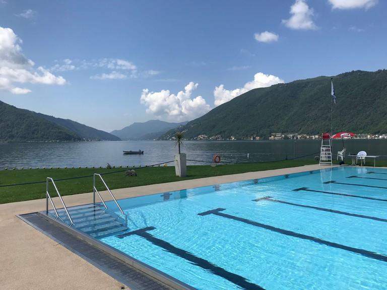 Lido di Bissone, Switzerland