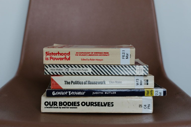 Books From The Glasgow Women's Library Collection Chosen By Kaisa Lassinaro And Maeve Redmond