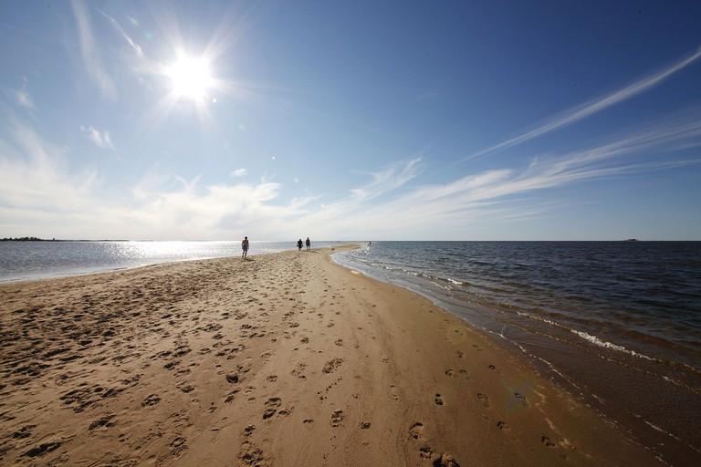 Kalajoki beach in Finland.