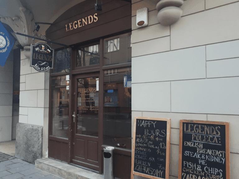 Legends British Bar in Warsaw | © Northern Irishman in Poland