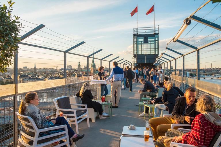 Eriks Gondolen bar and restaurant