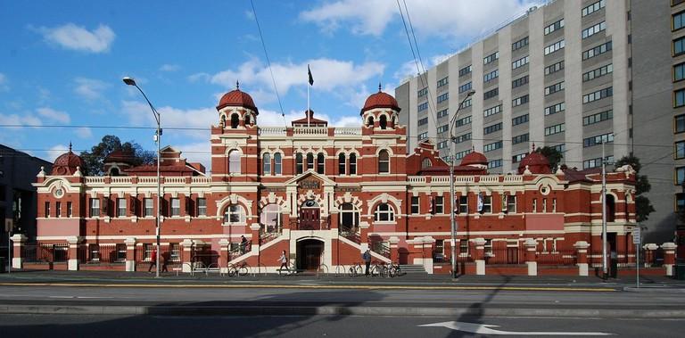 The historic Melbourne City Baths