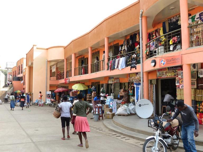 Mpanga Market in Fort Portal