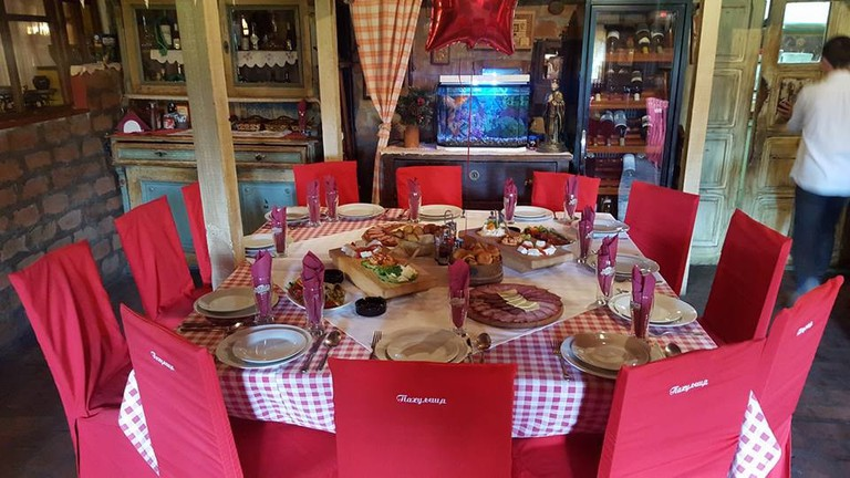 Pahuljica is ideal for large parties with large appetites