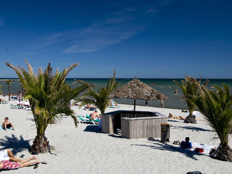 Palmestranden Beach Denmark