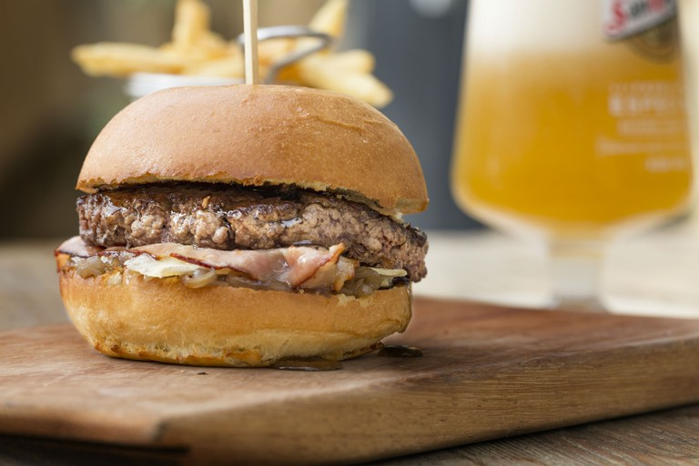 Stay classic or try the burgers that include foie gras and camembert cheese