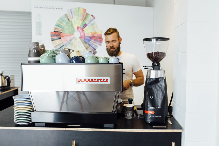 Jean-Paul at Specialty Coffee Trader