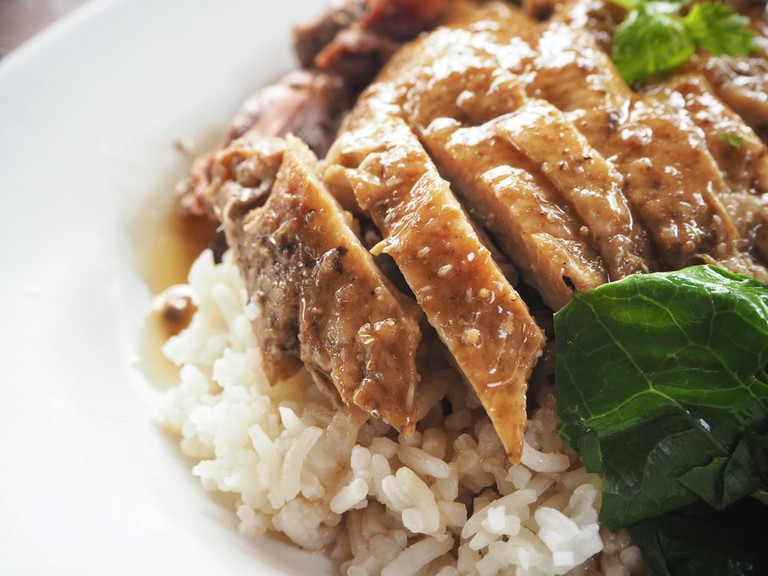 Chinese style stewed duck