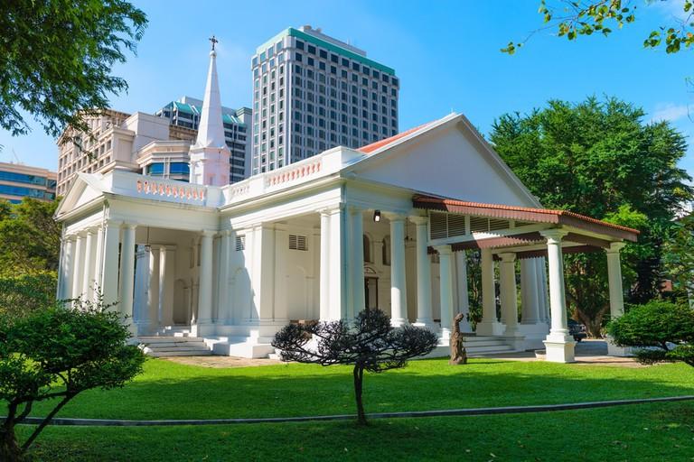 White Armenian Church of Saint Gregory, Singapore