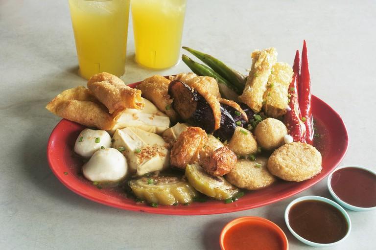 Chinese food yong tau foo