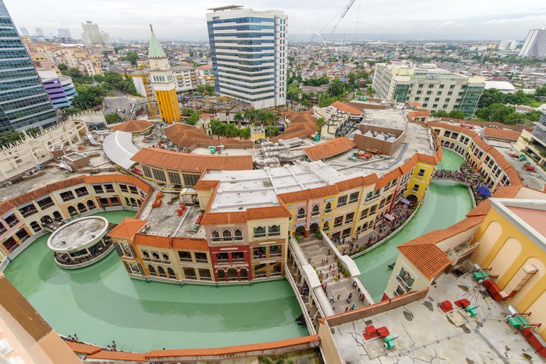 Venice Piazza Grand Canal Mall from Venice Luxury Residences, Taguig, Philippines