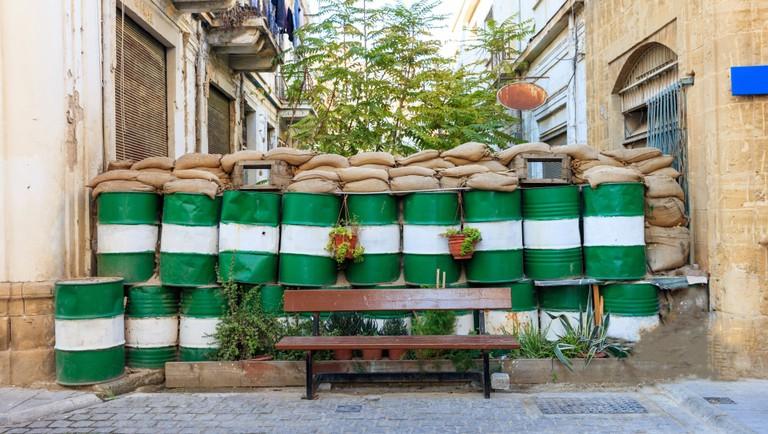 Green Line in Nicosia, Cyprus