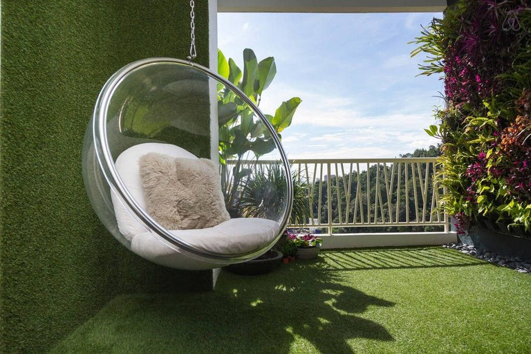 Balcony area of Spectacular View