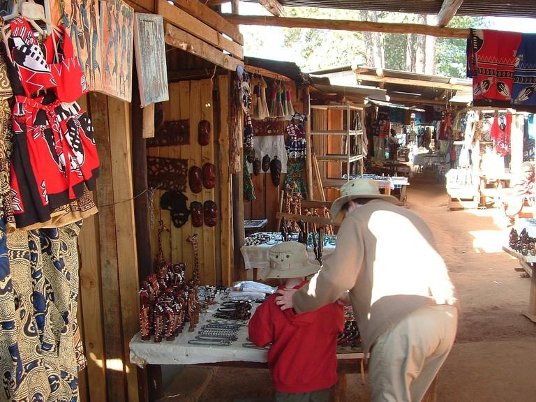 Craft market in Swaziland
