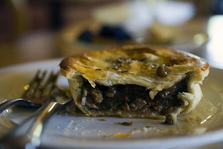 Enjoy a pie from Bob's Bakery