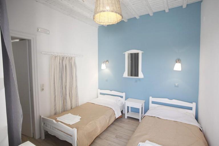 Guestroom at Nikos Rooms